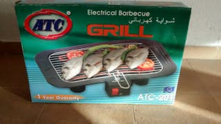 Plancha parrilla barbacoa de cocina electrica