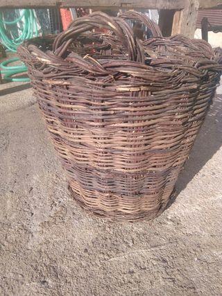 cesto grande antiguo