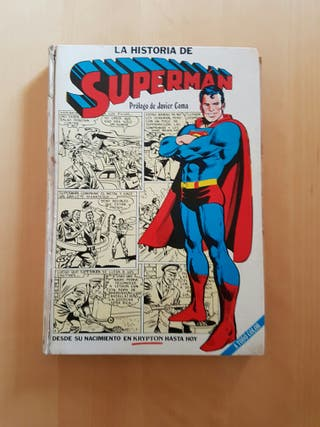 Comic La historia de Superman