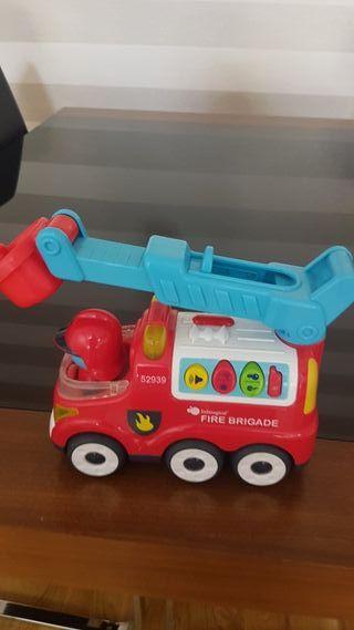 camion bomberos. imaginarium