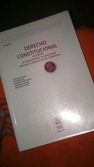 libro de derecho constitucional