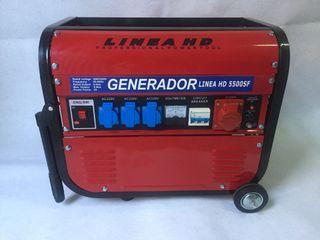 Generador insonorizado ruedas
