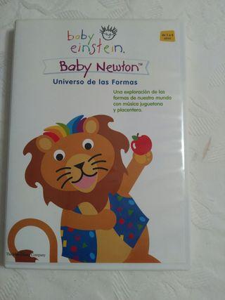 DVD Baby Einstein Baby Newton nuevo