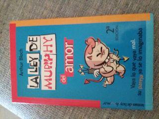 """libro """"La ley de Murphy del amor"""""""