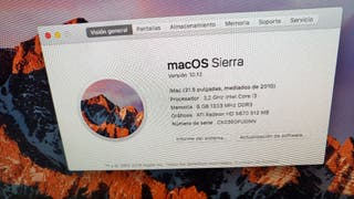 imac 21 i3 8gb y disco duro 1tb