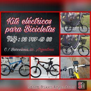 Kits Eléctricos Para Bicicletas