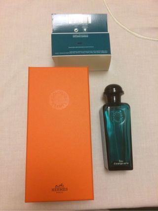 Caja y frasco Hermès