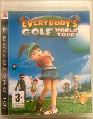Juego PS3 Everybody's Golf World Tour