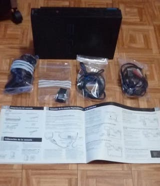 PS2 con TODOS sus accesorios+ 2 JUEGOS