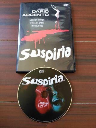 Suspiria, DVD, de Dario Argento