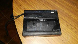 walkman grabadora sanyo
