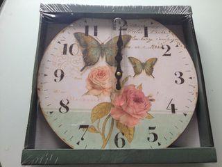 Reloj colgar 35 cm diámetro
