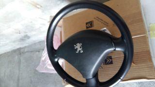 volante peugeot 307 cuero con airbag