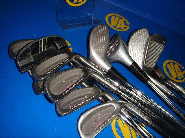 palos de golf 13 palos CONTENDER con bolsa