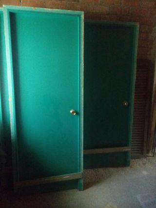 puertas paso interior con marco y cerradura