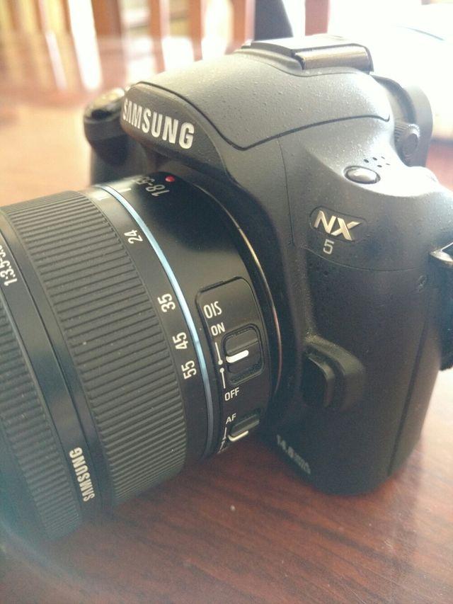 Cámara Samsung Nx5
