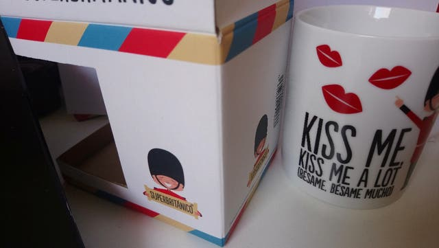 taza Superbritánico Kiss