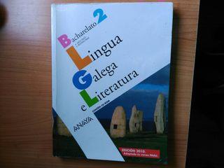 Libro de LINGUA GALEGA E LITERATURA