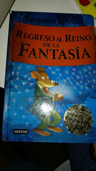 Pack 4 libros Geronimo Stilton + 2 de regalo