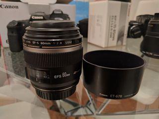 Objetivo Canon 60mm 2,8 Macro