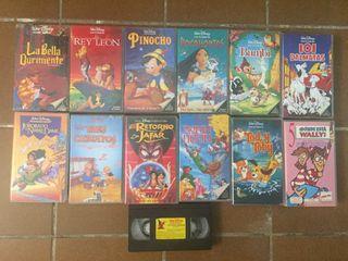 Peliculas vhs Disney