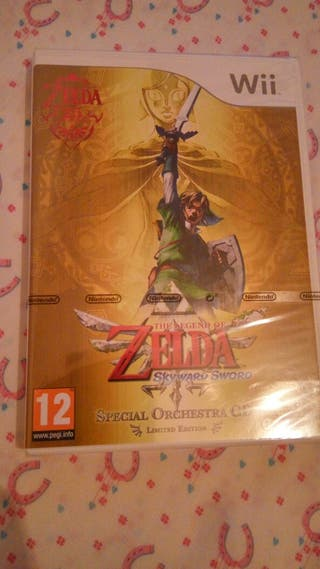 The Legend of Zelda: Skyward Sword PRECINTADO