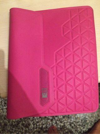 Funda tablet rosa
