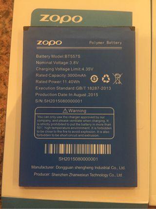 Zopo bateria