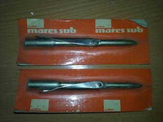 Puntas arpón fusil submarino Mares.
