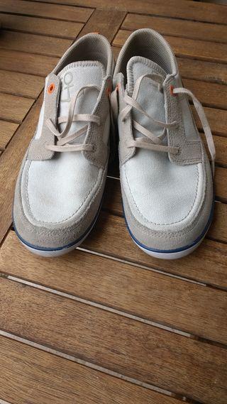 zapatos Nauticos tribord de tela n° 38