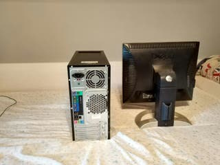 PC sobremesa + monitor DELL