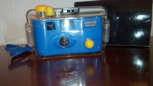 camara de foto subacuática