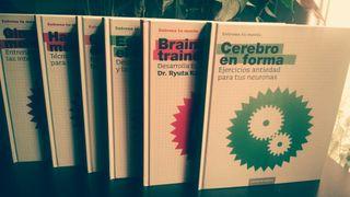 Entrena tu mente. 6 Libros!!