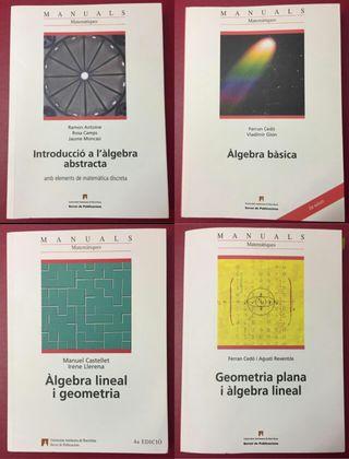 Manuals d' algebra