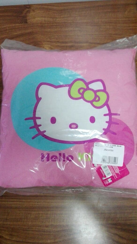 cojin hello kitty
