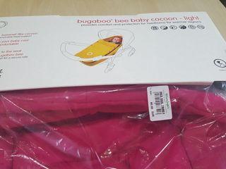Saco nido de bebe ligero bugaboo bee 3 rosa fucsia