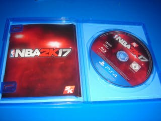 Juego ps4 NBA2K 17 buen estado