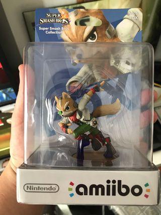 Amiibo PRECINTADO de Fox Wii U y Nintendo Switch