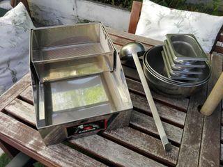 Enharinador acero inox