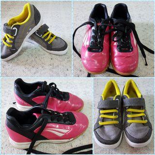 zapatillas futbol y deportivas 2paresx15€