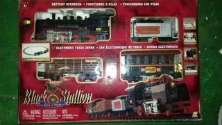 tren black stallion