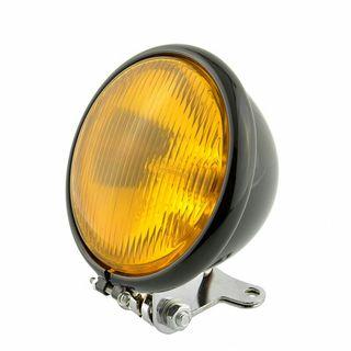 Faro moto lente amarilla