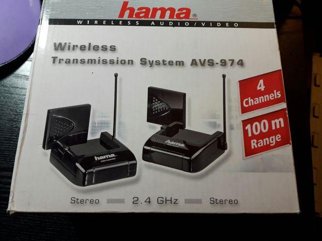 Transmisor receptor antena Hama