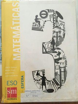 Libro de texto d Matemáticas