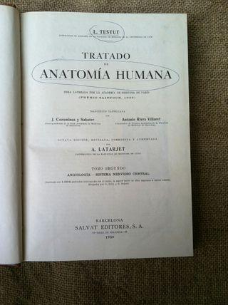 Libro anatomia humana 1930