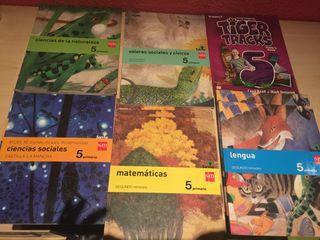 Libros de 5° de Primaria