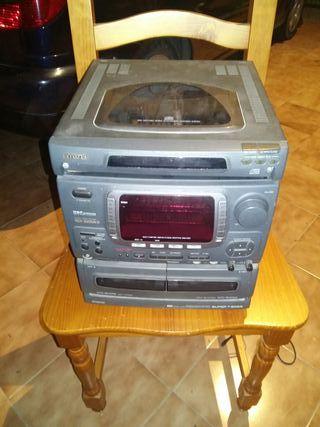 Amplificador audio 100wRMSx2