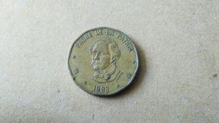 1 peso Dominicana