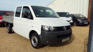 Volkswagen Transporter -T5 2013 caja abierta 6 pla