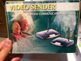 Video sender. Emisor-receptor